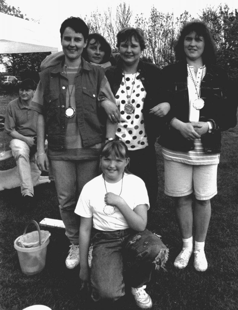 Casting Bezirksmeisterschaften 1994 - Die siegreichen Damen