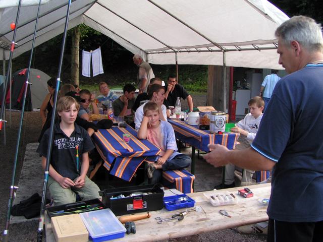Jugendzeltlager 2007 Lehrstunde