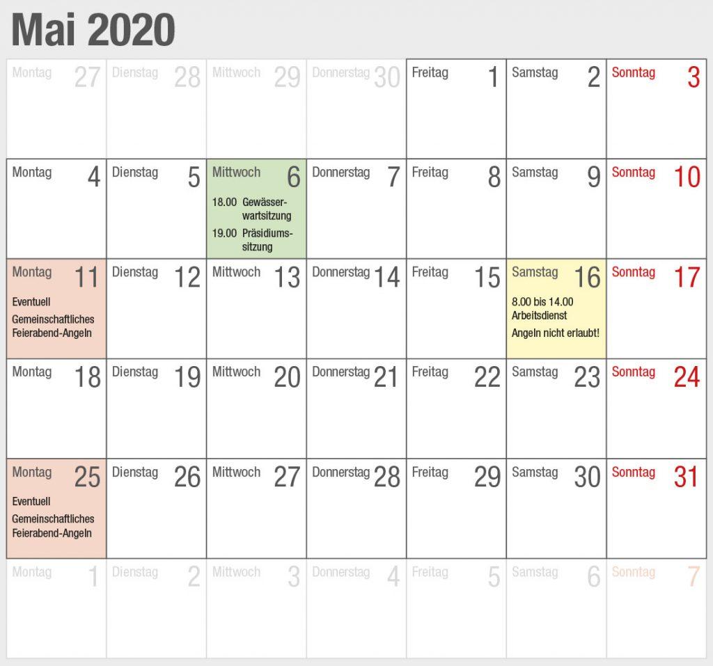 Kalender 2020-05