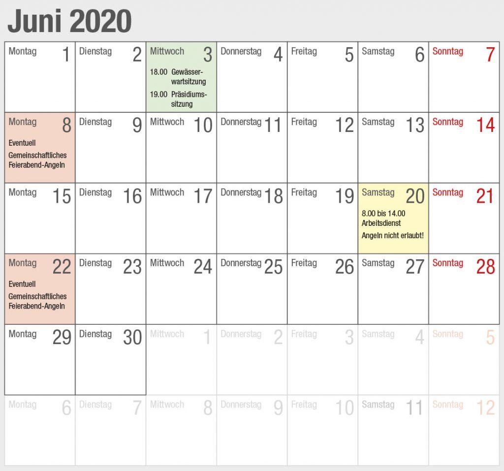 Kalender 2020-06