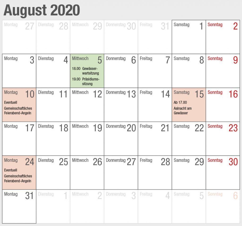Kalender 2020-08